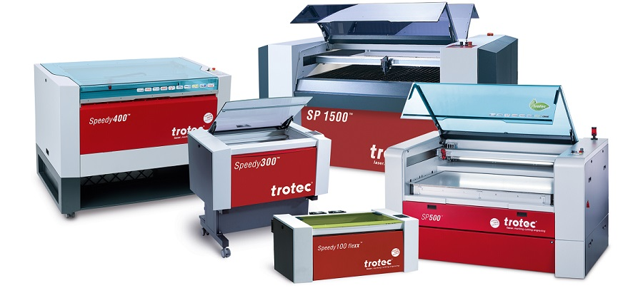 Trotec laser systems